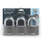 Замки навесные Apecs PD-01-63-Blister (3Locks+5Keys)